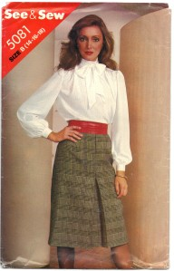 Butterick See & Sew 5081 Size B 14-16-18 Scanned 3-8-2014 Front