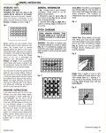 Leisure Arts Publication Plastic Canvas Corner March 1994 General Instructions1