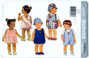 Check out Butterick 4350 DIY Pattern Baby Clothes For Sale by BearyAmazing on Storenvy. http://www.storenvy.com/products/10409628-butterick-4350-diy-pattern-baby-clothes-sewing-craft-supply-cut