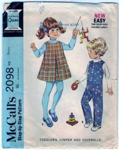 http://bearyamazing.storenvy.com/products/10406307-mccalls-2098-pattern-diy-toddlers-jumper-coveralls-vintage-sewing-craft