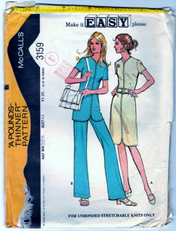 https://www.zibbet.com/bearyamazing/mccalls-3159-sewing-craft-pattern-dress-tunic-and-pants-sz-20-1-2-cut   #BearyAmazing  #BLuvBHugz  #Zibbet