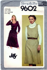 http://www.storenvy.com/products/10410375-simplicity-9602-diy-pullover-dress-or-jumper-jiffy-vintage-sewing-craft-supp