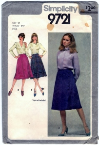 http://bearyamazing.storenvy.com/products/10407963-simplicity-9721-diy-skirt-pattern-front-wrap-vintage-sewing-craft-supply-sz
