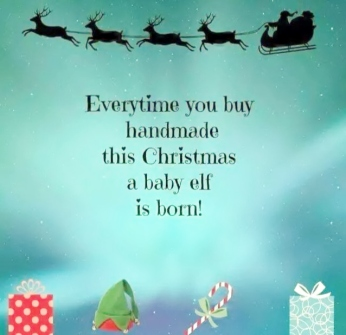 A Baby Elf Is Born Pic - FB Share