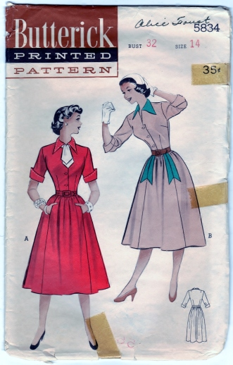 Butterick 5834 Scanned 4-01-2013 Front