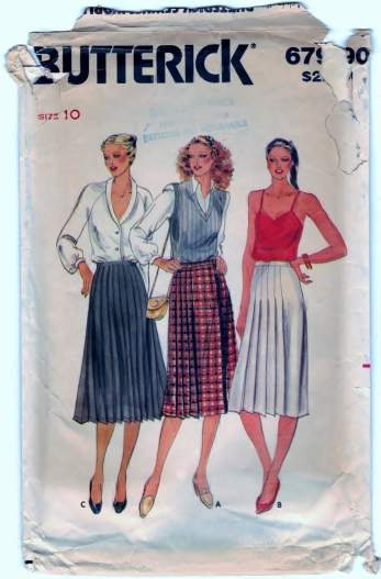 Butterick 6790 Size 10 Scanned 12-21-2013
