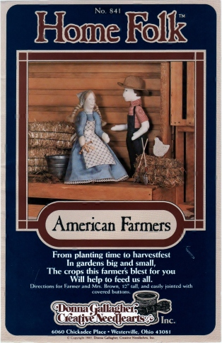 Home Folk American Farmers No. 841 Front 001