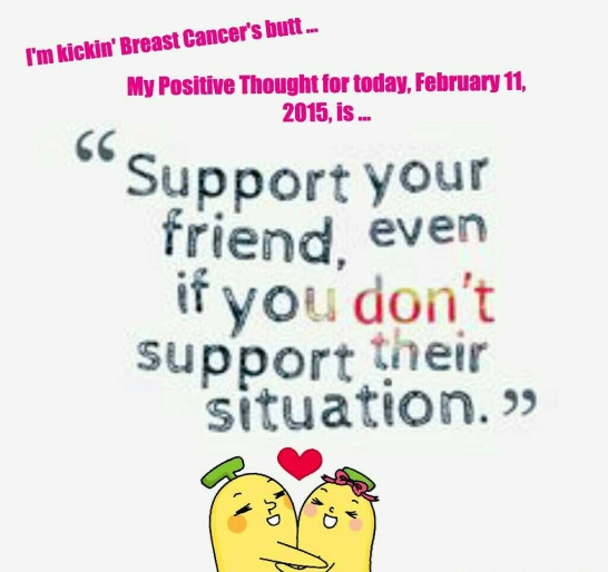 PicCollage Breast Cancer Support February 11, 2015