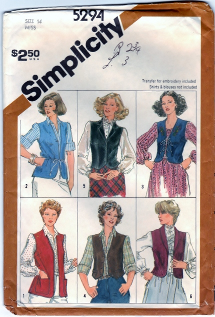 https://www.etsy.com/listing/221295834/vintage-simplicity-5294-sewing-craft