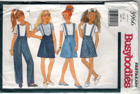 Butterick Busybodies 3966 - Scanned 12-06-2012 Front 001