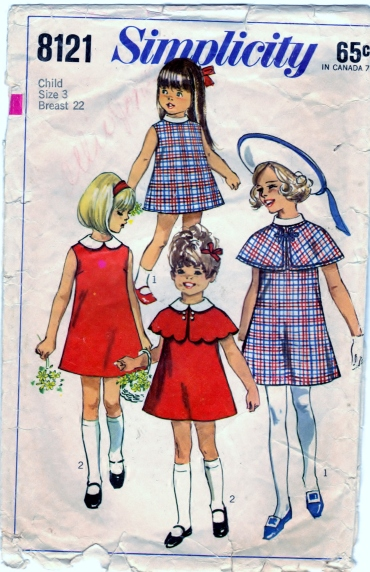 Simplicity 8121 Sz. 3 Scanned 4-19-2013 Front