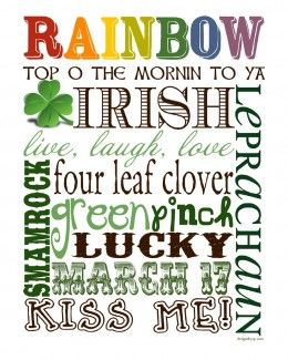St. Patricks Day Live Laugh Love Rainbow Image From Pinterest