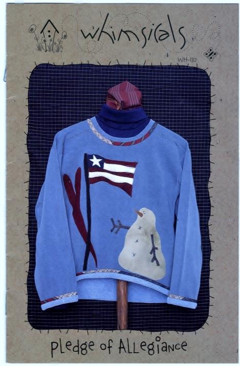 Whimsicals Pledge of Allegiance Designer Kit ©2001 Front