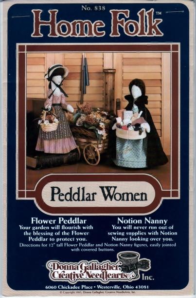 Home Folk Peddlar Women No. 838 Front 001