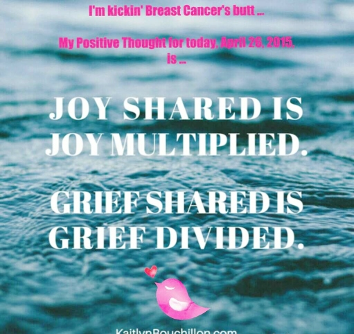 PicCollage Breast Cancer Support April 26, 2015