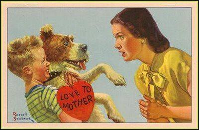 Happy Mother's Day ... Dog Image