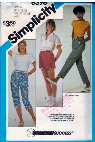 http://sharpharmade.myshopify.com/products/simplicity-6396-pattern-misses-pull-on-pants-in-two-lengths-and-shorts