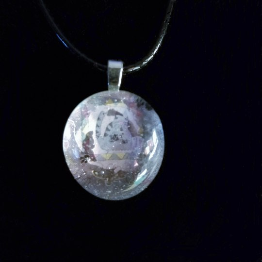 Fat Cat Glass Marble Necklace 342018 (7C) PS