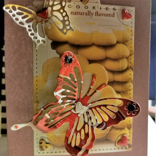 Butterfly Over You Handmade Greeting Card 4192018 (14 Close Up)