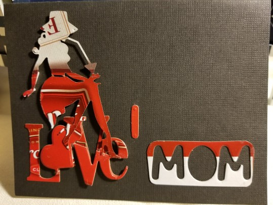 I Love Mom Handmade Greeting Card 4162018 (3)