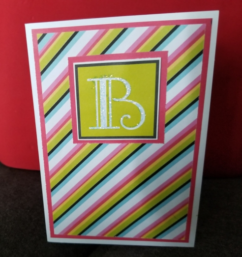 B Stands For Handmade Greeting Card 8232018 (2)