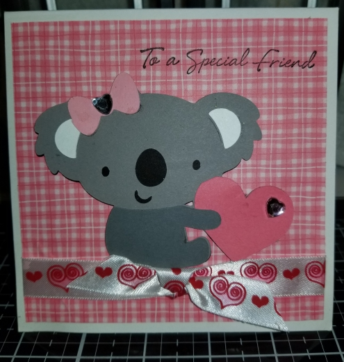 Bear Heart Handmade Greeting Card 8282018 (1)