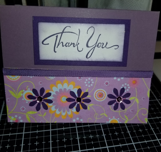 Floral Thank You Handmade Greeting Card 8252018 (7)