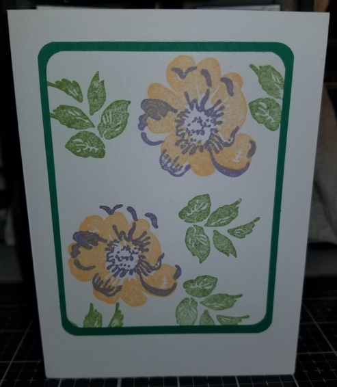 Thinking Of You Floral Handmade Greeting Card 8282018 (2)
