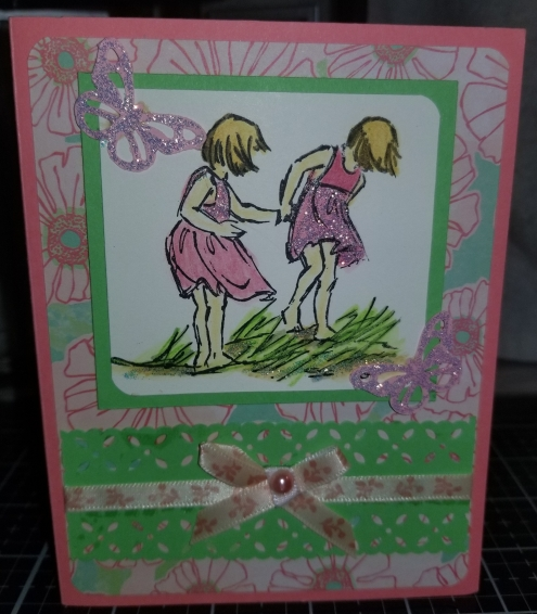 Beach Butterfly Exployers A Handmade Greeting Card 9152018 (2)