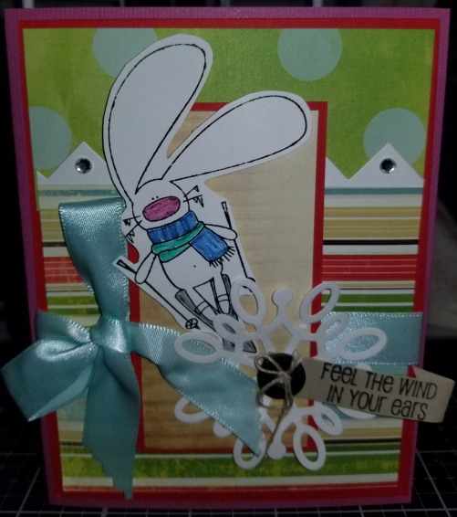 Bugs In The Wind Handmade Greeting Card 9222018 (1)