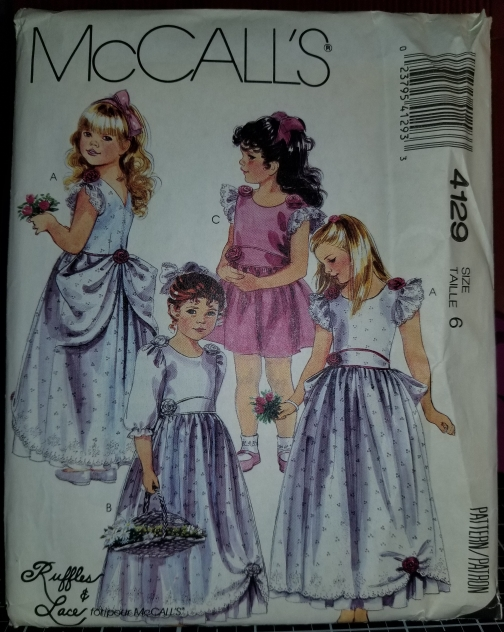 McCall's 4129 Pattern Children's And Girl's Gown or Dress 9272018 (1).jpg