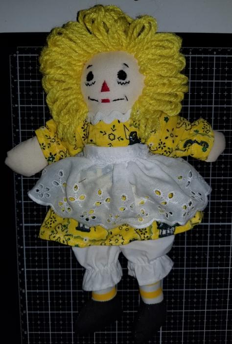 Raggedy Ann Deere Handmade Doll 9282018 (5)