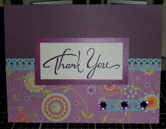 Thank You Handmade Greeting Card 9152018 (2)