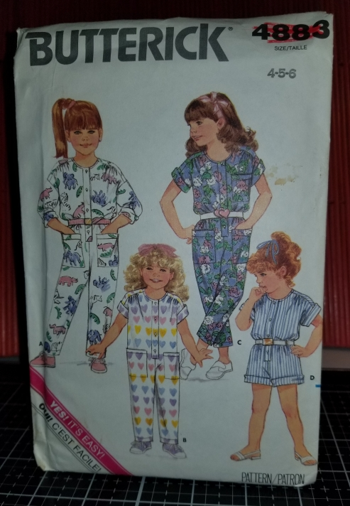 Butterick 4883 Pattern Toddler Children Jumpsuit 10142018 (1).jpg