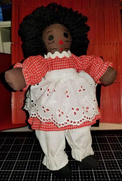 Handmade Raggedy Ann Doll 10 Inch 10172018 (1Thumbnail)