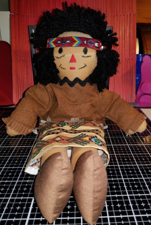 Raggedy Ann 15 Inch Native American Doll 1072018 (1).jpg