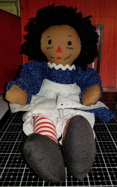 Raggedy Ann 15 Inch Handmade Doll 11112018 (1Thumbnail)