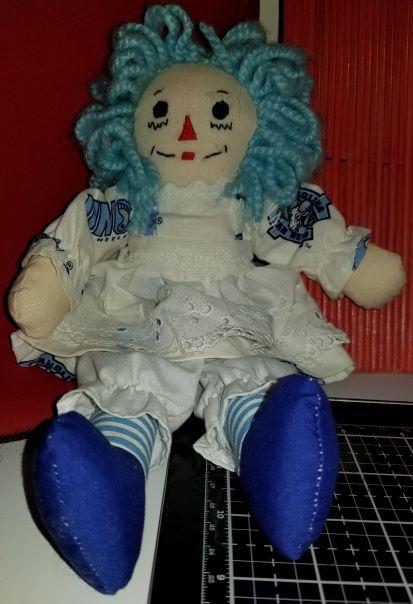 Raggedy Ann Handmade doll UNC 10 Inch 1172018 (1Thumbnail)