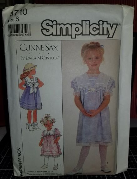 Simplicity 8710 Pattern Child Dress In Two Lengths 1162018 (4Thumbnail)